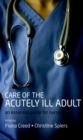 Care of the Acutely Ill Adult : An essential guide for nurses - eBook