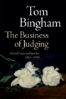 The Business of Judging : Selected Essays and Speeches: 1985-1999 - eBook