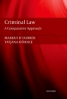 Criminal Law : A Comparative Approach - eBook