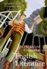 The Oxford Companion to English Literature - eBook