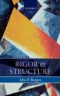 Rigor and Structure - eBook