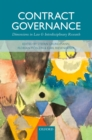 Contract Governance : Dimensions in Law and Interdisciplinary Research - eBook