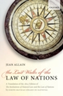The Last Waltz of the Law of Nations : A Translation of The 1803 Edition of The Institutions of Natural Law and the Law of Nations - eBook