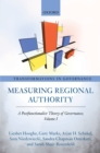 Measuring Regional Authority : A Postfunctionalist Theory of Governance, Volume I - eBook