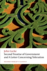 Second Treatise of Government and A Letter Concerning Toleration - eBook