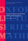 Function Spaces and Partial Differential Equations : 2 Volume set - eBook