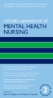Oxford Handbook of Mental Health Nursing - eBook