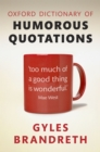 Oxford Dictionary of Humorous Quotations - eBook