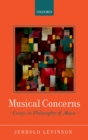 Musical Concerns : Essays in Philosophy of Music - eBook