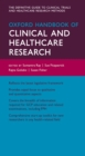 Oxford Handbook of Clinical and Healthcare Research - eBook