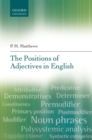The Positions of Adjectives in English - eBook