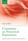 Constraints on Numerical Expressions - eBook