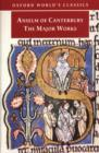 Anselm of Canterbury: The Major Works - eBook