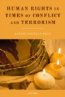 Human Rights in Times of Conflict and Terrorism - eBook