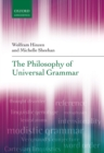 The Philosophy of Universal Grammar - eBook