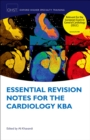 Essential Revision Notes for Cardiology KBA - eBook