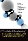 The Oxford Handbook of Strategic Sales and Sales Management - eBook