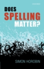 Does Spelling Matter? - eBook