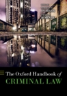 The Oxford Handbook of Criminal Law - eBook