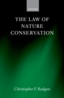 The Law of Nature Conservation - eBook