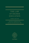 The Law of Higher Education - eBook