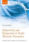 Subjectivity and Perspective in Truth-Theoretic Semantics - eBook