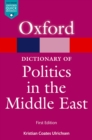 A Dictionary of Politics in the Middle East - eBook
