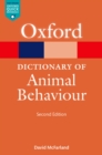 A Dictionary of Animal Behaviour - eBook