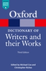A Dictionary of Writers and their Works - eBook