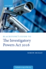 Blackstone's Guide to the Investigatory Powers Act 2016 - eBook