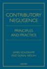 Contributory Negligence : Principles and Practice - eBook