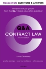 Concentrate Questions and Answers Contract Law : Law Q&A Revision and Study Guide - eBook