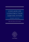 Coulson on Construction Adjudication (book and digital pack) - eBook