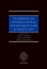 Yearbook on International Investment Law & Policy 2017 - eBook