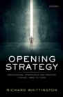 Opening Strategy : Professional Strategists and Practice Change, 1960 to Today - eBook