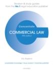 Commercial Law Concentrate : Law Revision and Study Guide - eBook