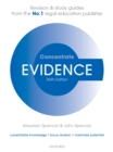 Evidence Concentrate : Law Revision and Study Guide - eBook