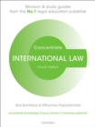 International Law Concentrate : Law Revision and Study Guide - eBook