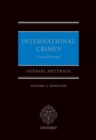International Crimes: Volume I: Genocide - eBook