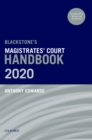 Blackstone's Magistrates' Court Handbook 2020 - eBook
