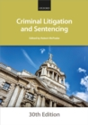 Criminal Litigation and Sentencing - eBook