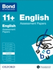 Bond 11+: English: Assessment Papers : 8-9 years - Book