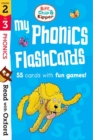 Read with Oxford: Stages 2-3: Biff, Chip and Kipper: My Phonics Flashcards - Book