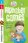 Read with Oxford: Stages 1-3: Biff, Chip and Kipper: Alphabet Games Flashcards - Book