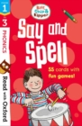 Read with Oxford: Stages 1-3: Biff, Chip and Kipper: Say and Spell Flashcards - Book