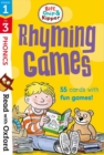 Read with Oxford: Stages 1-3: Biff, Chip and Kipper: Rhyming Games Flashcards - Book