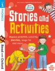 Read with Oxford: Stage 1: Biff, Chip and Kipper: Stories and Activities : Phonics practice, colouring, puzzles, bingo fun and more - Book