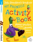 Read with Oxford: Stage 1: Julia Donaldson's Songbirds: My Phonics Activity Book - Book