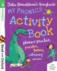 Read with Oxford: Stage 4: Julia Donaldson's Songbirds: My Phonics Activity Book - Book