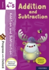 Progress with Oxford: Addition and Subtraction Age 4-5 - Book